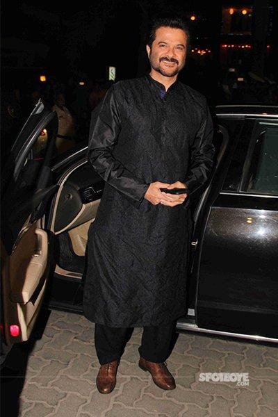 Anil Kapoor at Amitabh Bachchan Diwali bash 2016.jpg