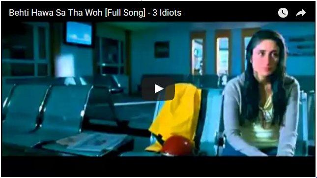 Behti Hawa Sa Tha Woh (3 Idiots, 2009).PNG