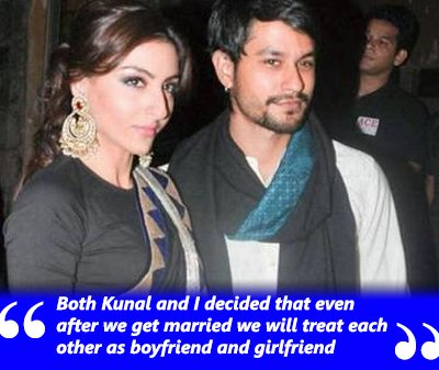 Both Kunal and I decided that even after we get married we will treat each other as boyfriend and girlfriend.jpg