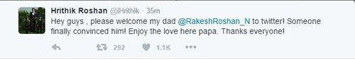 Hrithik Roshan welcomes dad Rakesh Roshan.jpg