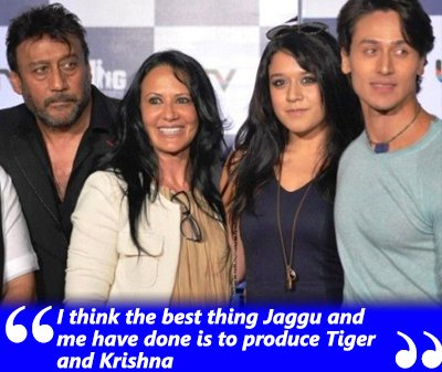 I think the best thing Jaggu and me have done is to produce Tiger and Krishna.jpg