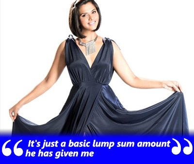 It's just a basic lumsum amount he has given me- Daljeet Kaur.jpg