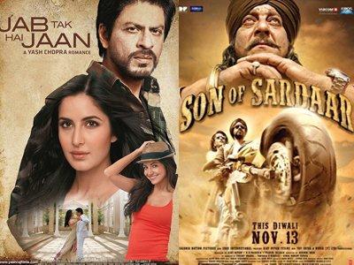 Jab Tak Hai Jaan- Shah Rukh Khan -Kattrina Kaif and Son Of Sardaar Poster - Ajay Devgn.jpg