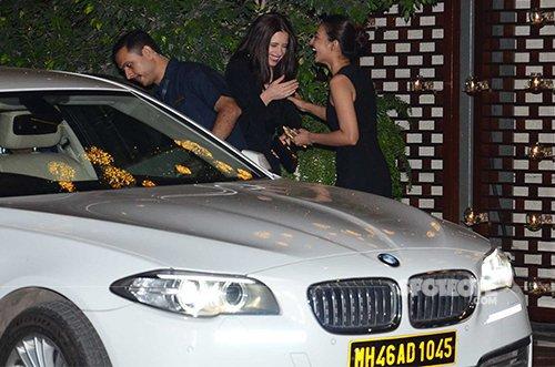 Kalki Koechlin and Radhika Apte at Ambani's MAMI party.jpg