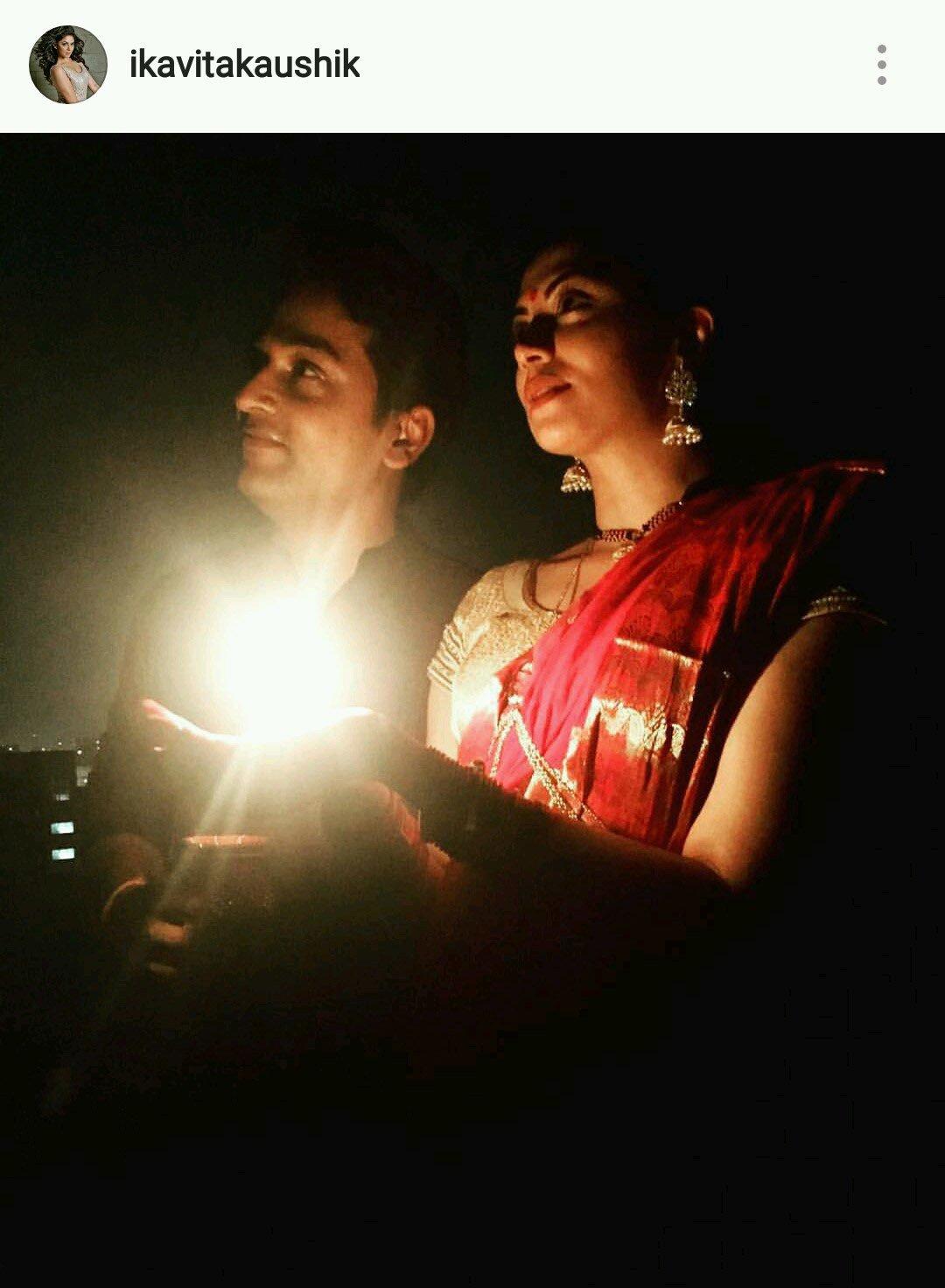 Kavita Kaushik Celebrates Karva Chauth 2016.jpg