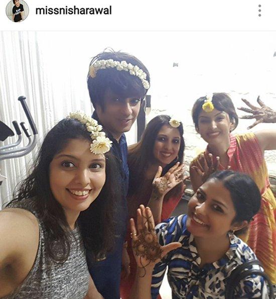 Nisha Raval Mehra at her karwachauth celebration.jpg