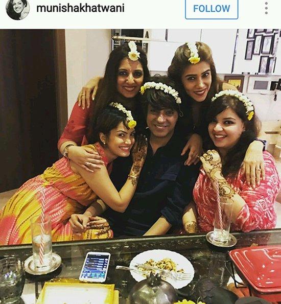 Nisha Raval Mehra showing off her gajra love.jpg