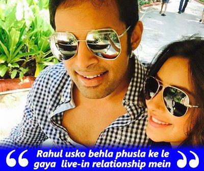 Rahul usko behla phusla ke le gaya  live-in relationship mein- Pratyusha Banerjee.jpg