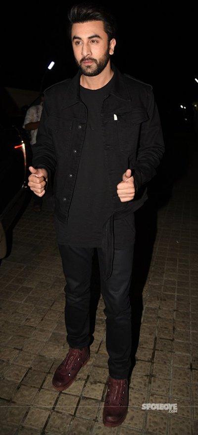 Ranbir Kapoor at The Ae Dil Hai Mushkil Screening.jpg