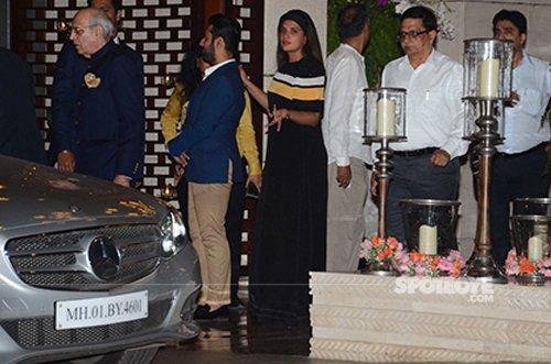 Richa Chadda at Ambani's MAMI party.jpg