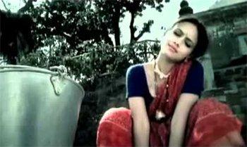 Sana Khan In Amul Macho Ad -Yeh Toh Bad Toing Hai.jpg