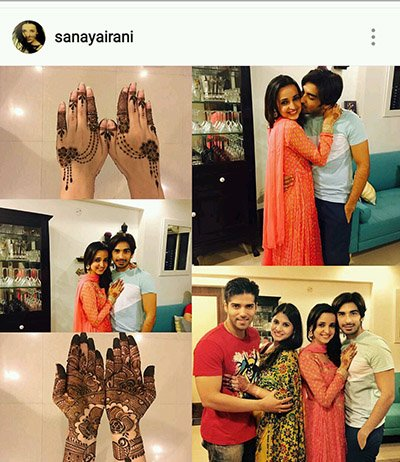 Sanaya Irrani celebrates Karva Chauth 2016 with husband Mohit Sehgal.jpg