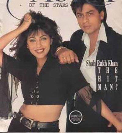 Shah Rukh Khan and Gauri Khan in a magazine ad shoot - Aura.jpg
