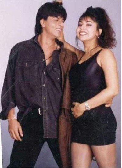 Shah Rukh Khan and Gauri Khan in a photoshoot - Aura.jpg