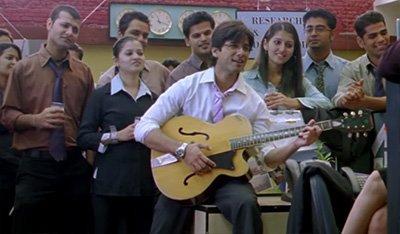 Shahid Kapoor as Aditya Kashyap In Jab We Met.jpg