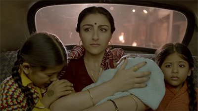 Soha Ali Khan with kids in a Still from 31st October movie.jpg