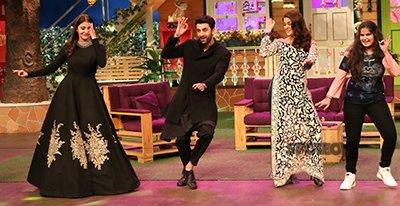 Team Ae Dil Hai Mushkil On The Sets Of Kapil Sharma Show.jpg