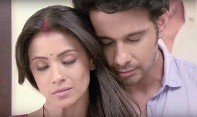 Television show Naamkaran  Barkha and Viraf 2.jpg