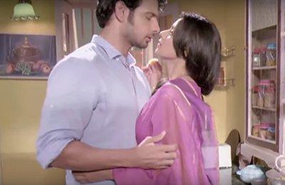Television show Naamkaran  Barkha and Viraf 7.jpg