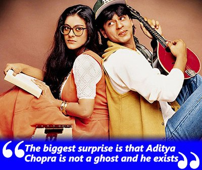 The biggest surprise is that Aditya Chopra is not a ghost and he exists- Shahrukh Khan.jpg