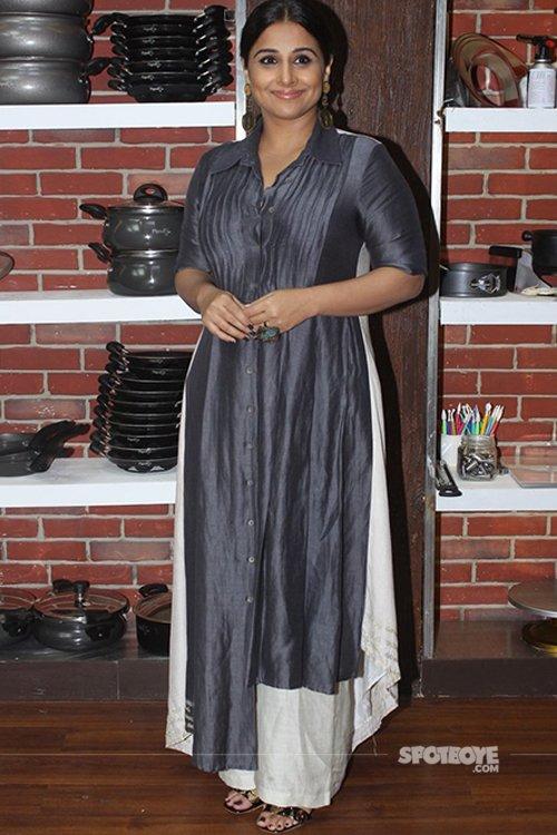 Vidya Balan spotted at Masterchef India set.jpg