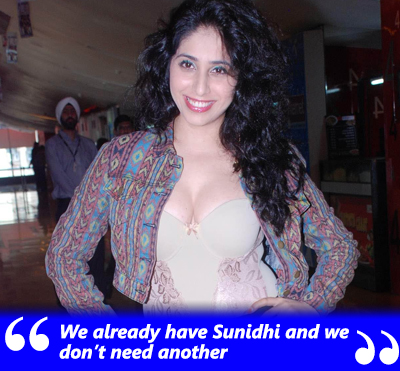 We already have Sunidhi and we don't need another- Neha Bhasin.jpg
