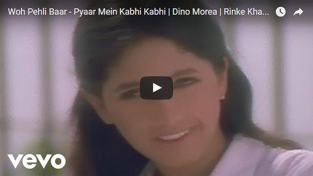 Woh Pehli Baar (Pyar Mein Kabhi Kabhi, 1999).PNG