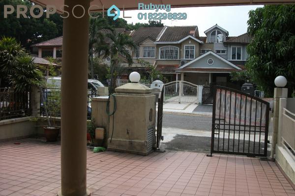 For Sale Terrace at Kota Kemuning Hills, Kota Kemuning Freehold Semi Furnished 4R/3B 850k