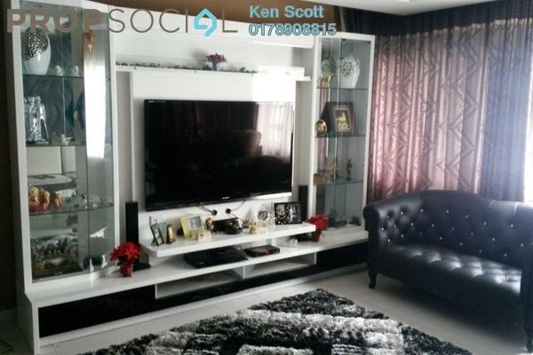 For Sale Condominium at Koi Kinrara, Bandar Puchong Jaya Freehold Fully Furnished 3R/2B 570k