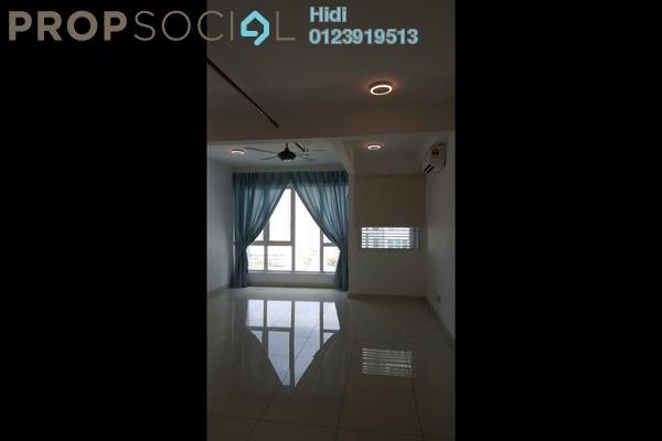 For Rent SoHo/Studio at De Centrum, Kajang Freehold Semi Furnished 0R/1B 1.1k
