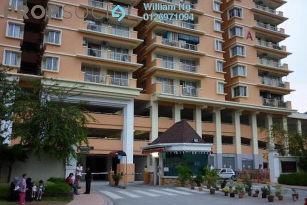 For Rent Condominium at Platinum Hill PV6, Setapak Freehold Semi Furnished 4R/2B 1.7k