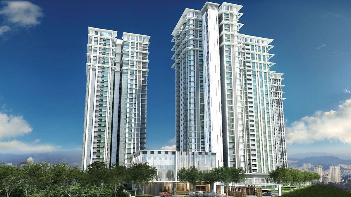New development in Pavilion Hilltop, Mont Kiara