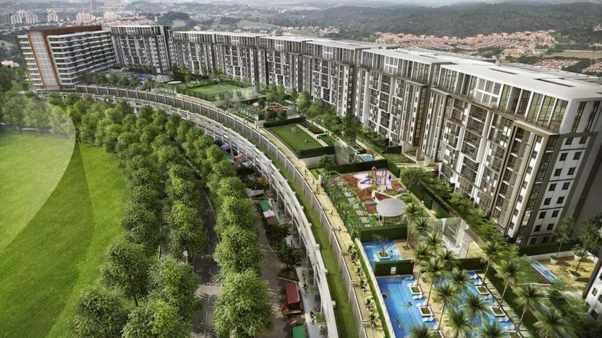 New development in Radia Residences, Bukit Jelutong
