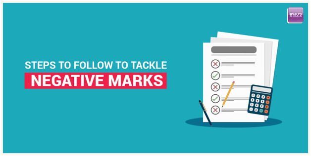 Steps to Follow to Tackle Negative Marks