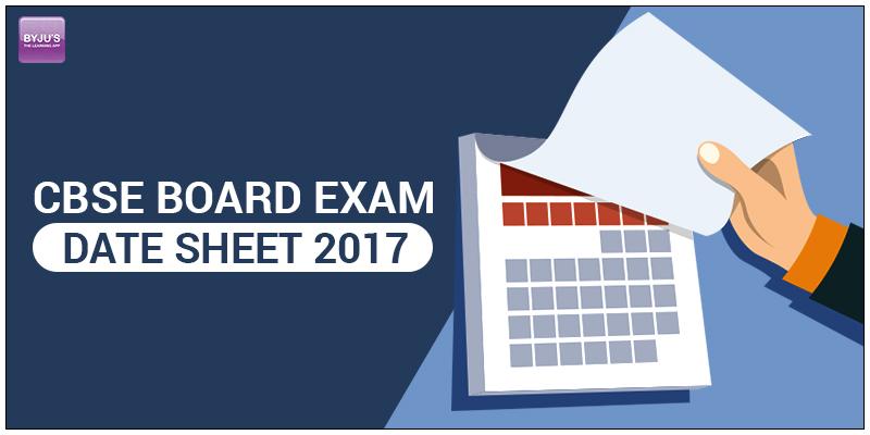 CBSE-BOARD-EXAM-DATE-SHEET-2017 CBSE Announces Class X and XII Board Exam Date Sheet 2017