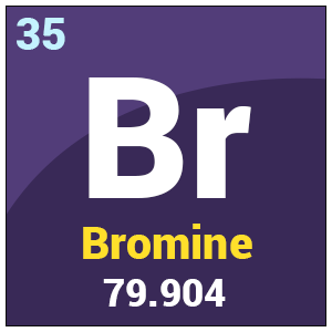 bromine chemical element and average atomic Properties, sources and uses of the element bromine  periodic table of  elements): br atomic weight (average mass of the atom): 79904  carl löwig, a  german chemistry student studying under german chemist leopold.