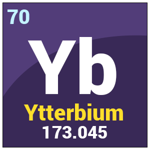 Ytterbium chemical properties health effects periodic table urtaz Gallery