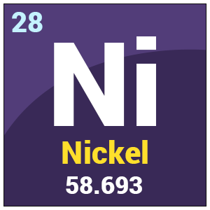 nickel chemical properties amp uses periodic table