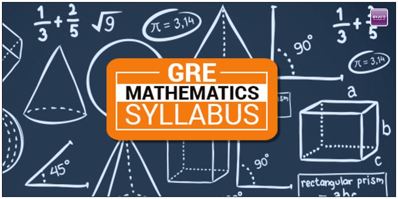 GRE Mathematics Syllabus