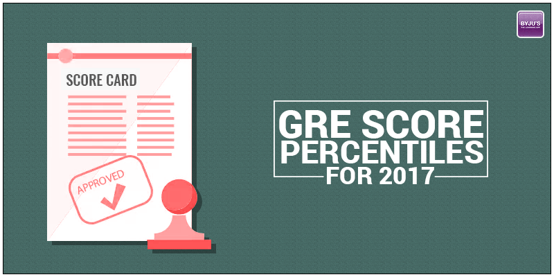 GRE Score Percentiles for 2017