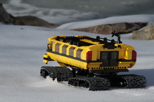 polar research vehicle (PRV)