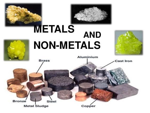 Metals And Non-Metals | Properties Of Metals, Metalloids ...