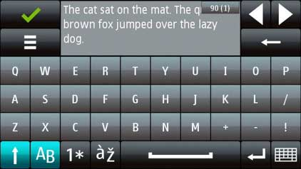 nokia 5800 xpressmusic Edition qwerty keypad