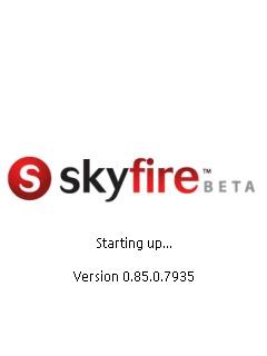 skyfire loading