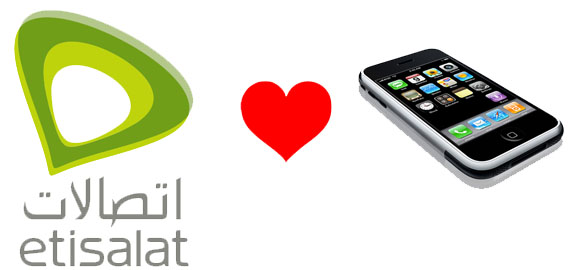 Iphone officially in UAE with Etisalat