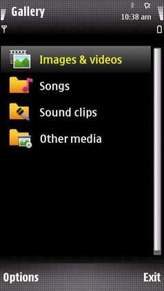 Nokia 5800 gallery