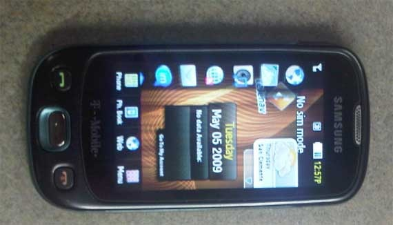 samsung touchscreen phone
