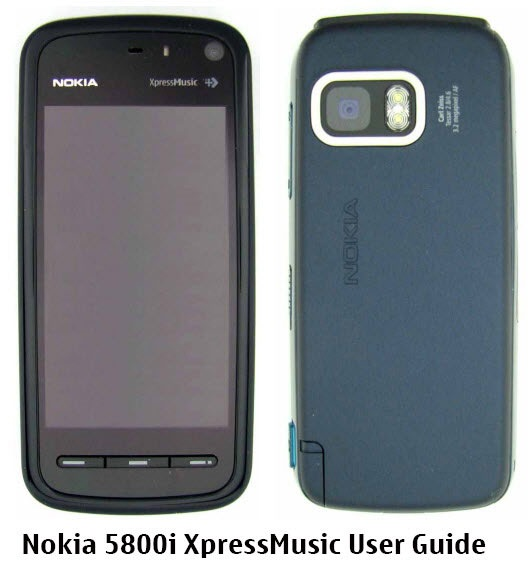 Nokia 5800i XpressMusic touchScreen phone