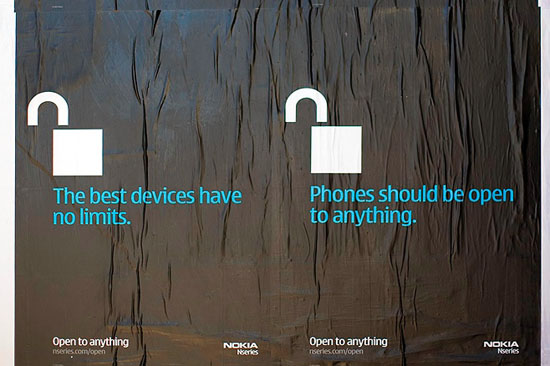 nokia's campaign against iphone