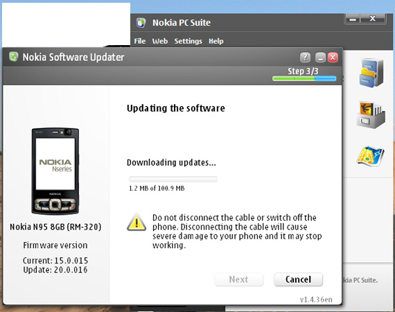 Download Nokia N95 Update Software